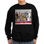 Passing the Plate Sweatshirt (dark)