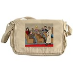 Passing the Plate Messenger Bag