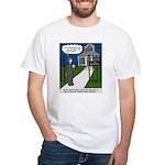 Tough Pastoral Visits White T-Shirt