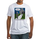 Tough Pastoral Visits Fitted T-Shirt