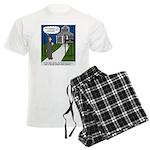Tough Pastoral Visits Men's Light Pajamas