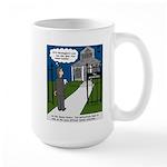 Tough Pastoral Visits Large Mug