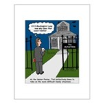 Tough Pastoral Visits Small Poster