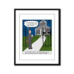 Tough Pastoral Visits Framed Panel Print