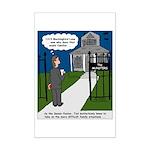 Tough Pastoral Visits Mini Poster Print