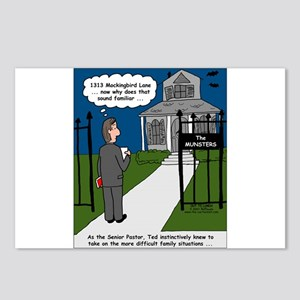 Tough Pastoral Visits Postcards (Package of 8)