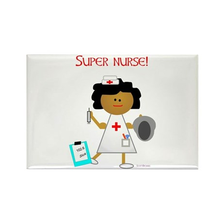 Super Nurse Rectangle Magnet