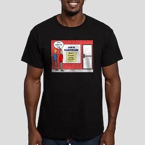 Hardware Prayer Group Men's Fitted T-Shirt (dark)