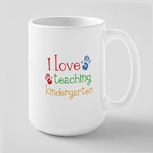 I Love Kindergarten Mugs