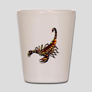 Metal Scorpion Shot Glass