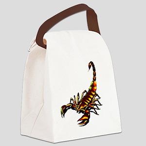 Metal Scorpion Canvas Lunch Bag