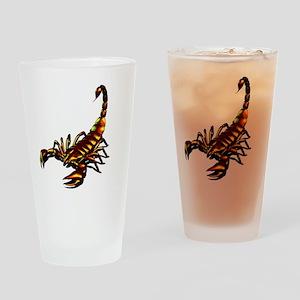 Metal Scorpion Drinking Glass