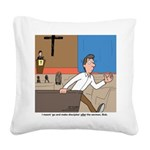 Great Commission Square Canvas Pillow