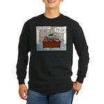 New Pastor Adjustment Long Sleeve Dark T-Shirt