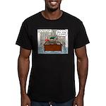 New Pastor Adjustment Men's Fitted T-Shirt (dark)