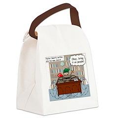 New Pastor Adjustment Canvas Lunch Bag