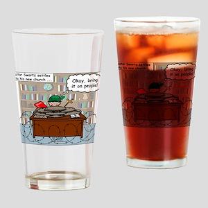 New Pastor Adjustment Drinking Glass