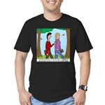 Seminary Faith Men's Fitted T-Shirt (dark)