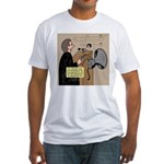 Sounding Off Fitted T-Shirt
