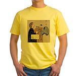 Sounding Off Yellow T-Shirt