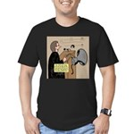 Sounding Off Men's Fitted T-Shirt (dark)