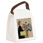 Sounding Off Canvas Lunch Bag