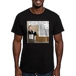 Highlights Reel Men's Fitted T-Shirt (dark)