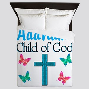 CHILD OF GOD Queen Duvet