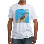 Fishing with God Fitted T-Shirt