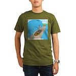 Fishing with God Organic Men's T-Shirt (dark)
