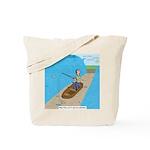 Fishing with God Tote Bag