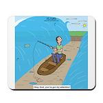 Fishing with God Mousepad