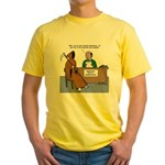 Death Applies to Seminary Yellow T-Shirt