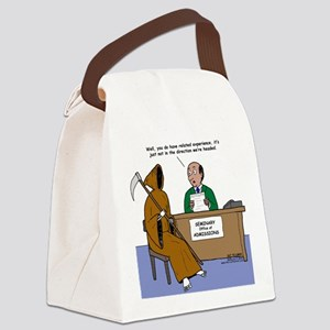 Death Applies to Seminary Canvas Lunch Bag