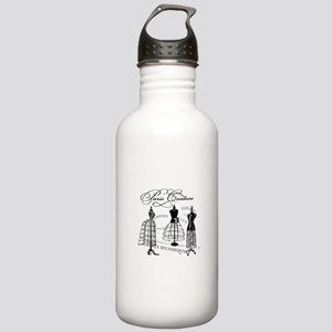 Paris Couture Mannequins Stainless Water Bottle 1.