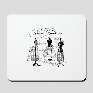 Paris Couture Mannequins Mousepad