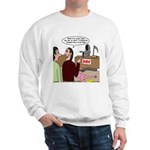 Death Works at the DMV Sweatshirt