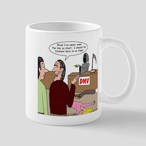 Death Works at the DMV Mug