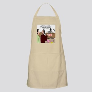 Death Works at the DMV Apron