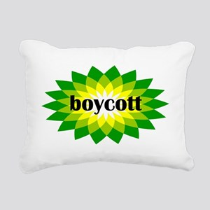 2-bp boycott 4 light Rectangular Canvas Pillow