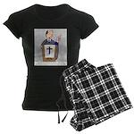 Church Coffee Women's Dark Pajamas