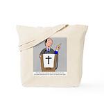 Church Coffee Tote Bag