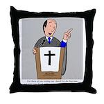 Church Coffee Throw Pillow