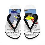 Clown Ministry Flip Flops