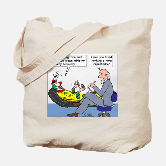 Clown Ministry Tote Bag