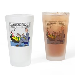 Clown Ministry Drinking Glass