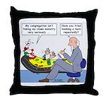 Clown Ministry Throw Pillow