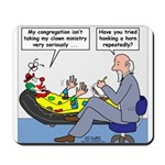 Clown Ministry Mousepad