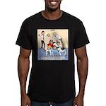Team Building Men's Fitted T-Shirt (dark)
