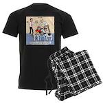 Team Building Men's Dark Pajamas